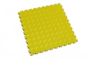 Podłoga Fortelock Light 2050 - wzór diament (Diamond Yellow)