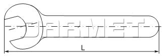 Klucz hakowy do oprawek do tulejek zaciskowych ER16 - APX