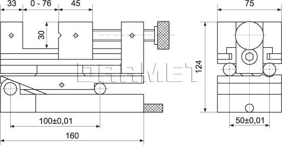 Precision Toolmakers 2-Way Vise SPZSD