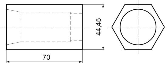 Bloczek do tulejek zaciskowych 5C (DM-268)