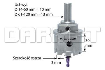 Otwornica POWER-MAX 30 EASY-CUT z akcesoriami - KARNASCH (20.1015)